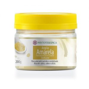 Argila Amarela 200g – Phytoterápica