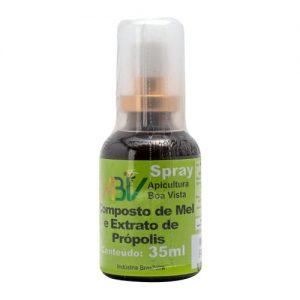 Composto de Mel e extrato de Própolis – Spray 35 ml (frasco) – ABV