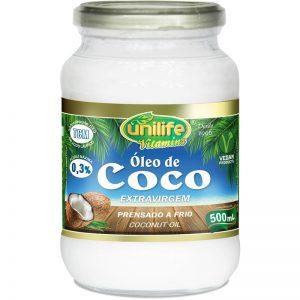 Óleo de Coco 500ml ExtraVirgem – Unilife