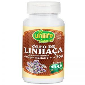 Óleo de Linhaça Marrom (Ômegas 3, 6, 9) – Unilife Vitamins