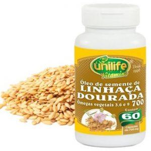 Óleo de Semente de Linhaça Dourada – Unilife Vitamins