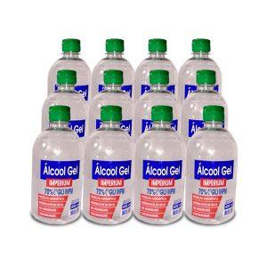 Álcool Gel 70% 450ml  ( Combo com 12 frascos  – Promoção  Atacarejo até 31/05/2020 ) – cada unidade : $ 9,50