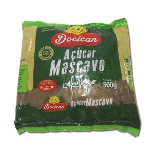 Açúcar Mascavo 100% Natural 500g – Docican