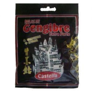 Balas de Gengibre Extra Forte  60g – Castella