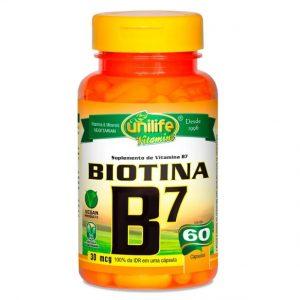 Biotina B7 – Unilife Vitamins