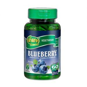 Blueberry Mirtilo ( com Selênio, Vitamina A e Vitamina B3 ) – Unilife Vitamins