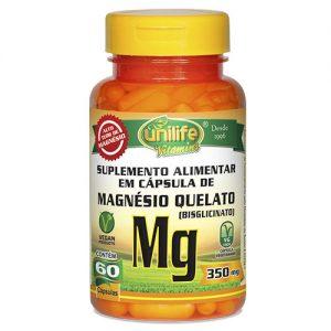Magnésio Quelato ( Bisglicinato ) – Unilife Vitamins