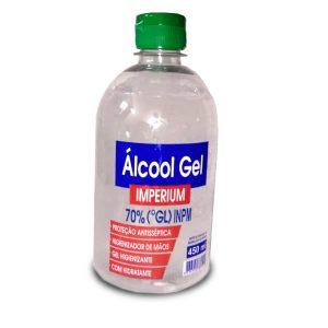 Álcool Gel 70% 450ml – frasco