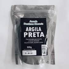 Argila Preta 500g – Amanda Prods. Nats.
