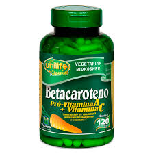 Betacaroteno ( Pró-Vitamina A+Vitamina C ) – Unilife Vitamins