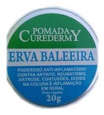 Pomada Erva-Baleeira 20g – Curedermy