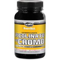 Picolinato de Cromo 120X500mg – Unilife Vitamins BodyAge