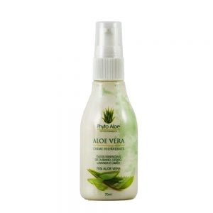 Creme Hidratante de Aloe Vera ( 75% ) 70ml – Phytoterápica