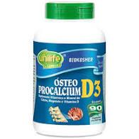 Ósteo Procalcium D3 – Unilife Vitamins